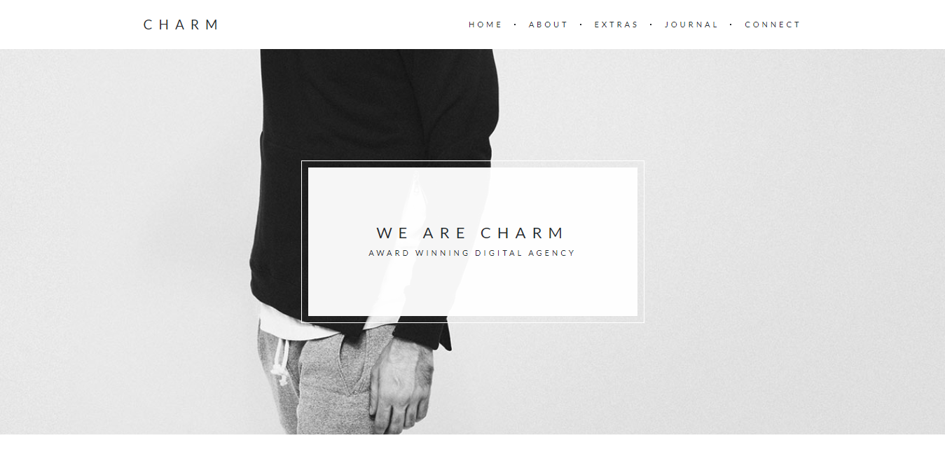 Charm – Portfolio for Freelancers Agencies